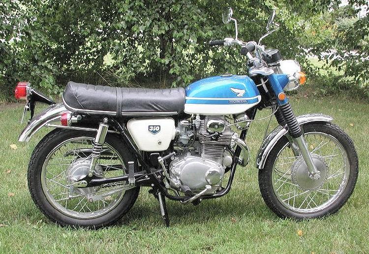 Honda 350 Scrambler (1),
