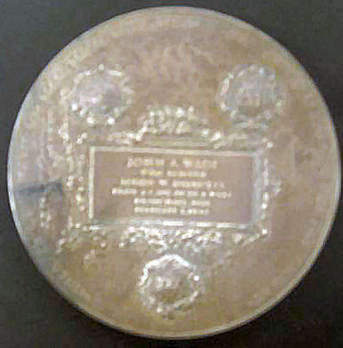 Carnegie medal rear for Crossroads jewelry winona ms
