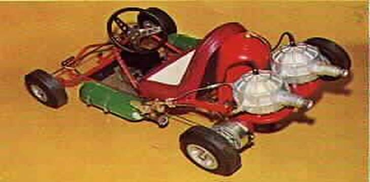 The wildest example of Turbonique vehicles, which perhaps ultimately